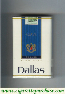 Discount Dallas De Luxo Suave cigarettes soft box