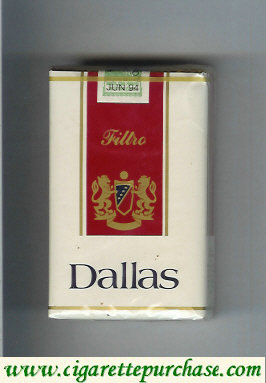 Discount Dallas Filtro cigarettes soft box