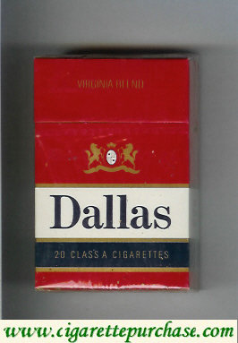 Discount Dallas Virginia Blend cigarettes hard box