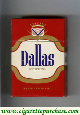 Discount Dallas Filters American Blend cigarettes hard box
