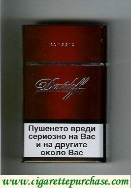 Discount Davidoff Classic 100s cigarettes hard box
