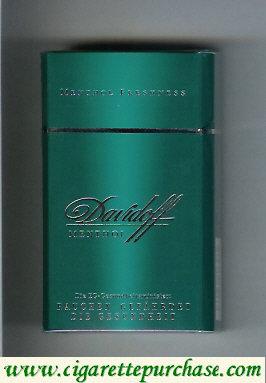 Discount Davidoff Menthol Menthol Freshness 100s cigarettes hard box