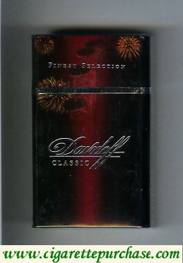 Discount Davidoff Classic collection design Finest Selection 100s cigarettes hard box