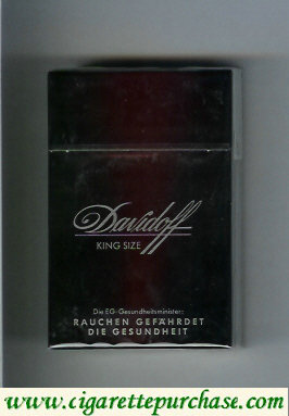 Discount Davidoff King Size cigarettes hard box