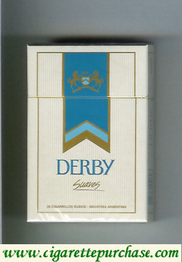 Discount Derby Suaves cigarettes hard box