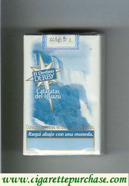 Discount Derby El Destino Derby Suaves Cataratas del Iguazu cigarettes soft box