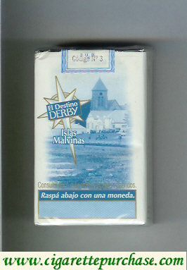 Discount Derby El Destino Derby Suaves Islas Malvinas cigarettes soft box