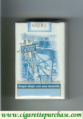 Discount Derby El Destino Derby Suaves Tren de las Nubes cigarettes soft box