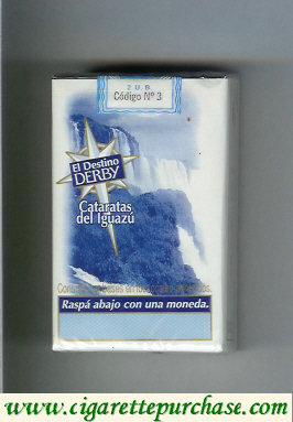 Discount Derby El Destino Derby Cataratas del Jguazu cigarettes soft box
