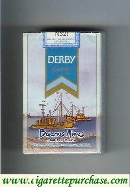Discount Derby Buenos Aires Suaves cigarettes soft box