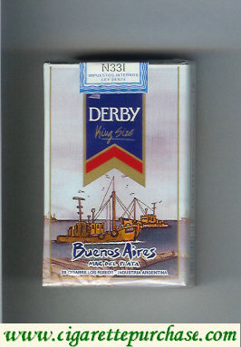 Discount Derby Buenos Aires cigarettes soft box