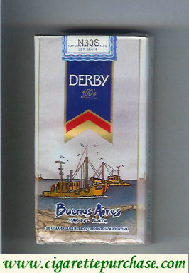 Discount Derby Buenos Aires 100s cigarettes soft box