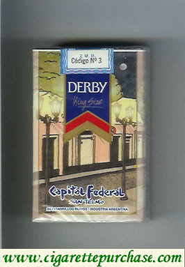 Discount Derby Capital Federal cigarettes soft box