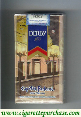 Discount Derby Capital Federal 100s cigarettes soft box