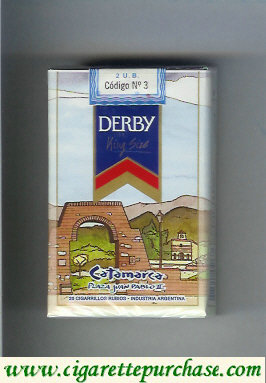 Discount Derby Catamarca cigarettes soft box