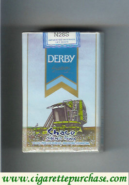 Discount Derby Chaco Suaves cigarettes soft box