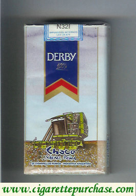 Discount Derby Chaco 100s cigarettes soft box