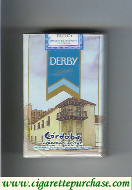 Discount Derby Cordoba Suaves cigarettes soft box