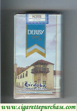 Discount Derby Cordoba Suaves 100s cigarettes soft box