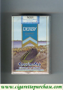 Discount Derby Corrientes Suaves cigarettes soft box