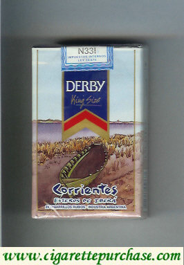 Discount Derby Corrientes cigarettes soft box
