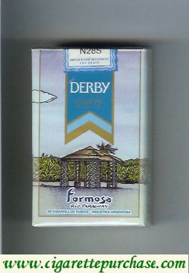 Discount Derby Formosa Suaves cigarettes soft box