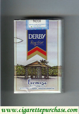 Discount Derby Formosa cigarettes soft box