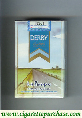 Discount Derby La Pampa Suaves cigarettes soft box