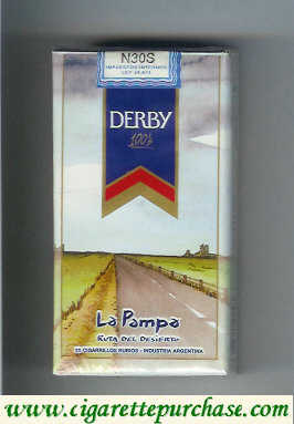 Discount Derby La Pampa 100s cigarettes soft box