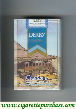 Discount Derby Mendoza Suaves cigarettes soft box