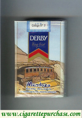 Discount Derby Mendoza cigarettes soft box