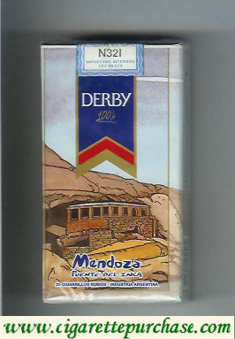 Discount Derby Mendoza 100s cigarettes soft box