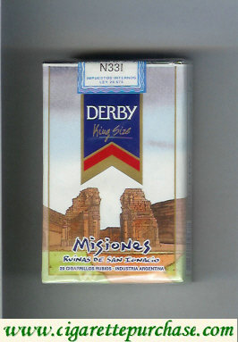 Discount Derby Misiones cigarettes soft box