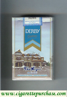 Discount Derby Rio Negro Suaves cigarettes soft box