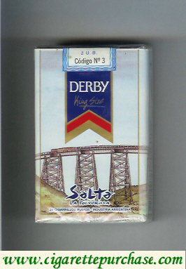 Discount Derby Salta cigarettes soft box