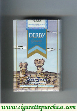 Discount Derby San Juan Suaves cigarettes soft box