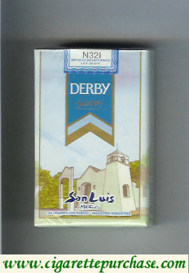 Discount Derby San Luis Suaves cigarettes soft box