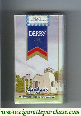 Discount Derby San Luis 100s cigarettes soft box