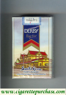 Discount Derby Santa Cruz cigarettes soft box