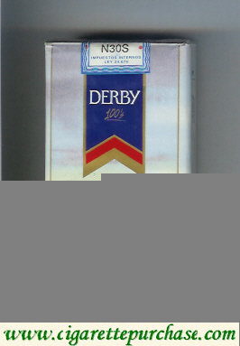 Discount Derby Santa Cruz 100s cigarettes soft box