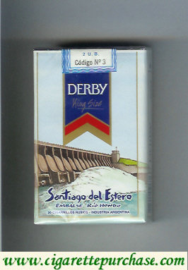 Discount Derby Santiago del Estero cigarettes soft box