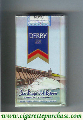 Discount Derby Santiago del Estero 100s cigarettes soft box