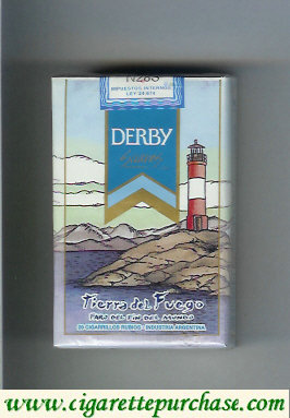 Discount Derby Tierra del Fuego Suaves cigarettes soft box