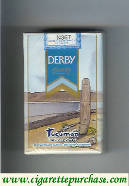 Discount Derby Tucuman Suaves cigarettes soft box