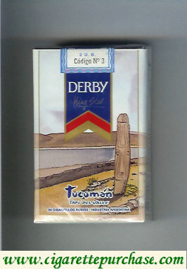 Discount Derby Tucuman cigarettes soft box