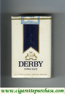 Discount Derby D King Size cigarettes soft box