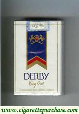 Discount Derby cigarettes soft box