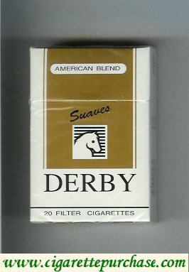 Discount Derby American Blend Suaves cigarettes soft box