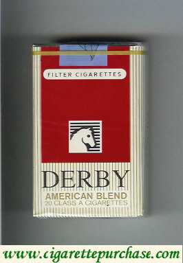Discount Derby American Blend cigarettes soft box