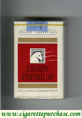 Discount Derby Premium cigarettes soft box